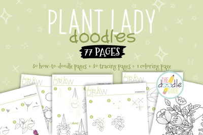 Plant Doodles Booklet