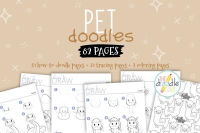 Pet Doodles Booklet