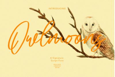 Owlmoons Signature Font