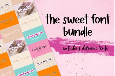 The Sweet Font Bundle