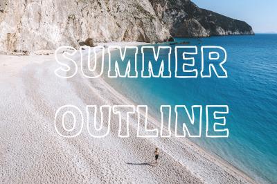 Summer Outline Font