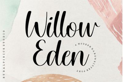Willow Eden Modern Handwritten Font