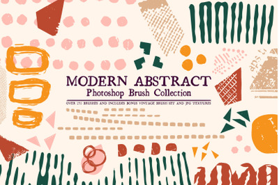 Modern Abstract Photoshop Brushes
