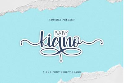 Baby Kiano Duo Font