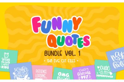Funny Quotes Bundle Vol. 1