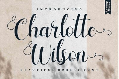 Charlotte Wilson