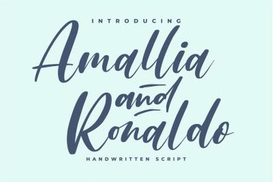 Amallia and Ronaldo