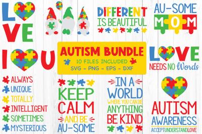 Autism Bundle Svg,Autism Awareness, Autism Quotes Svg