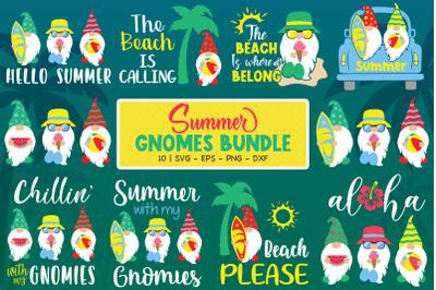 Summer Gnomes Bundle, Summer Svg, Gnomes Svg, Summer Gnome Svg, Hello