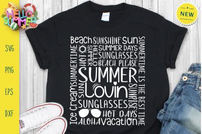 Summer Lovin Svg, Summer Quotes Svg, Hello Summer Svg