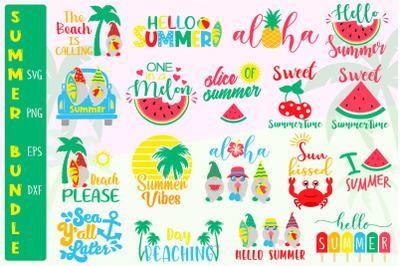 Summer Bundle Svg, Summer Quotes Bundle Svg