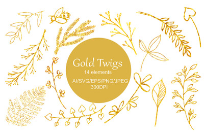Branches & Twigs SVG