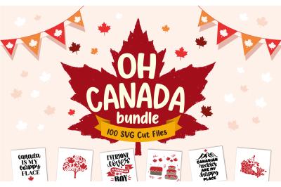 Oh Canada Day SVG Bundle