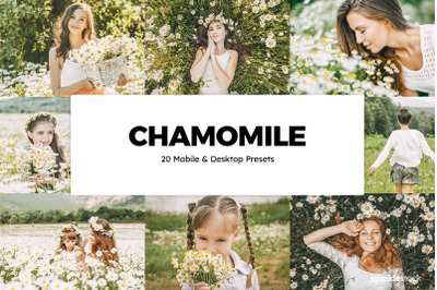 20 Chamomile Lightroom Presets and LUTs