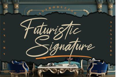 Futuristic Signature