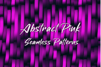 12 Pink Abstract Seamless Patterns Textures Background