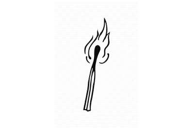 matchstick SVG and PNG clipart