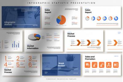 Professional Infographic Statistic Presentation