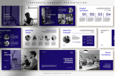 Professional Corporate Business Presentation