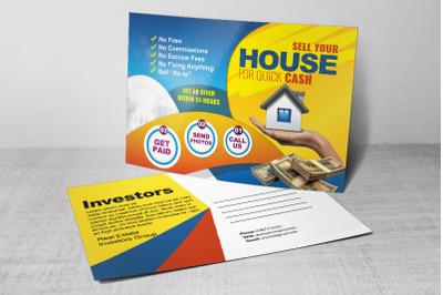 Real Estate Dealers Postcard