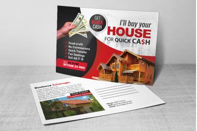 Real Estate Post Card For Investors