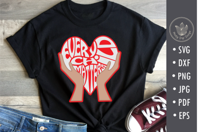 Every child matters, svg, png, heart shape with hands, Cut file, Shirt