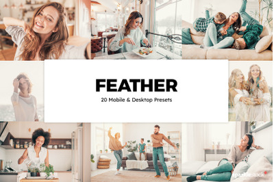 20 Feather Lightroom Presets & LUTs