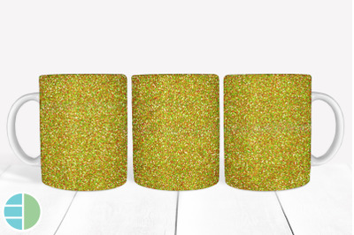 Mug Sublimation Gold Glitter Mug Designs