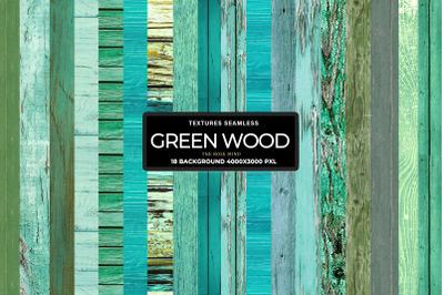 Wood green, rustic green wood