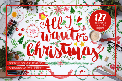All I Want 4 Christmas Graphics Pack
