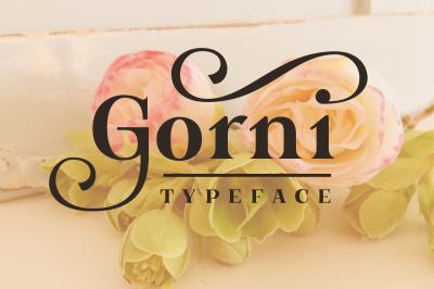 Gorni Typeface