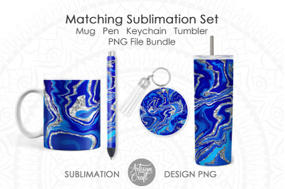 Sublimation designs matching set