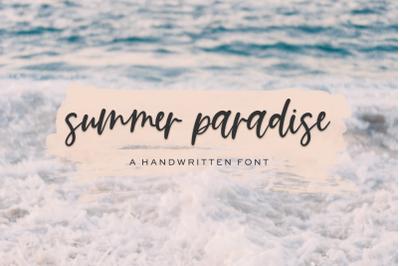 Summer Paradise Script