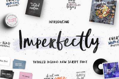 Imperfectly Script Font