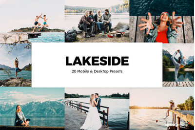 20 Lakeside Lightroom Presets & LUTs
