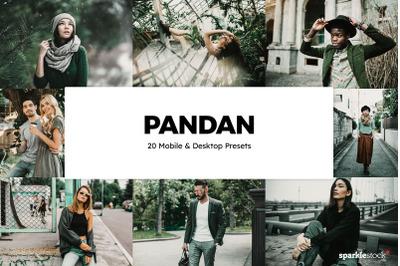 20 Pandan Lightroom Presets & LUTs