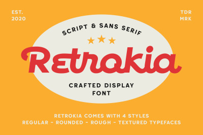 Retrokia - Display Font