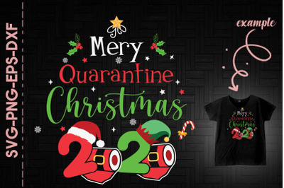 2020 Merry Quarantine Xmas Paper Roll