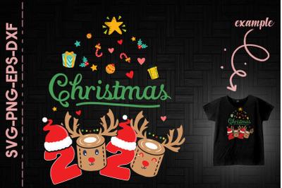 2020 Reindeer Quarantine Christmas Day