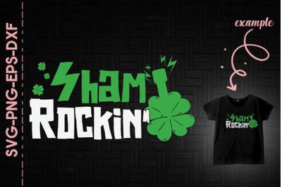 Patricks Day Shamrockin' Electric Guitar