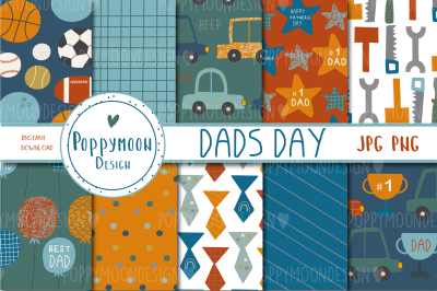 Dads day paper set