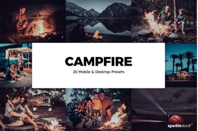 20 Campfire Lightroom Presets & LUTs