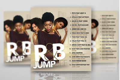 Rnb Music Flyer or CD artwork