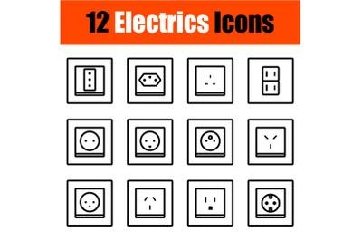 Electrics Icon Set