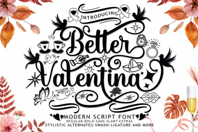 Better Valentina Font Duo
