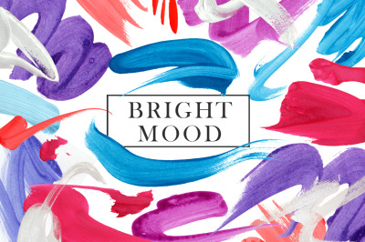 """""""Bright Mood"""" Abstract Collection"""