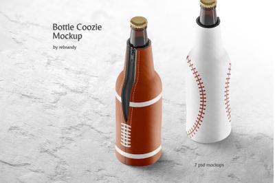 Bottle Coozie Mockup