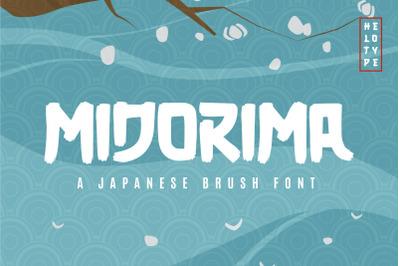Midorima - Japanese Font Brush