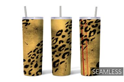 Leopard Tumbler Sublimation