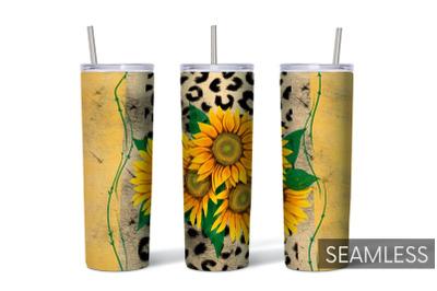 Sunflower Tumbler Sublimation
